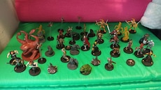 D&d Miniatures for sale  Talleys Crossing, NC