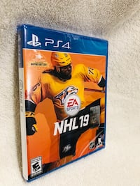 NHL 19 Playstation 4/Brand New/Factory Sealed/Never Open Downey, 90242
