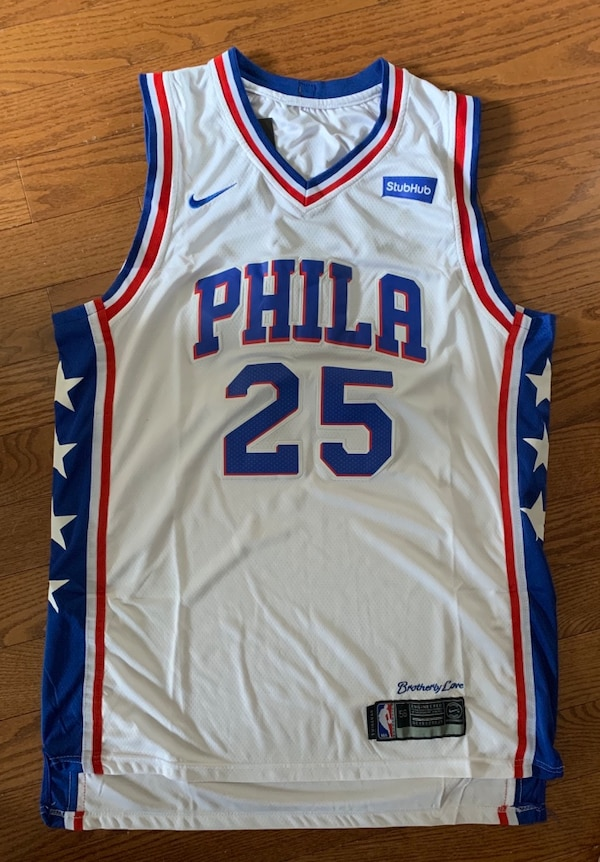db137540b9d Used Nike Ben Simmons Philadelphia 76ers NBA Jersey for sale in Mississauga  - letgo