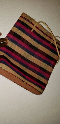 red, black, and white striped area rug San Jose, 95123