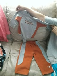 Gray and orange Texas outfit Sharon, 16146