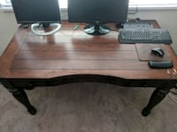 Wood desk.  Chevy Chase, 20815