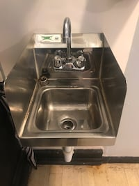 """12"""" x 16"""" Wall Mount NSF Hand Wash Commercial Sink"""