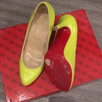 Red sole heels CL San Francisco, 94103