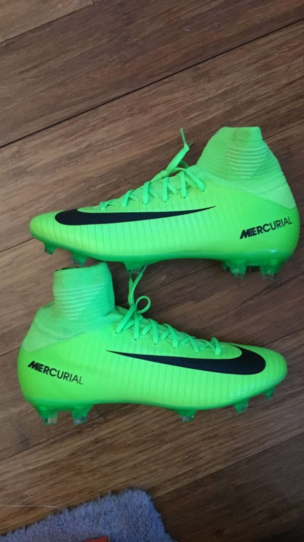 48fe25209dd Used Youth size 4.5 Nike mercurial superfly v fg soccer cleats for ...