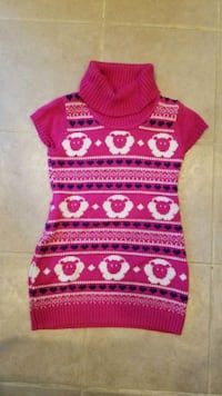 Girl's sweater dress. Size M. Springfield, 22153