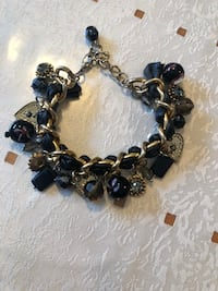 Chain bracelet with charms