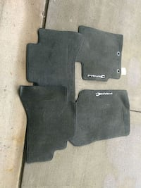 Prius C car floor mats Sterling