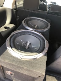 Black and gray pioneer subwoofer speaker Santa Fe Springs, 90670
