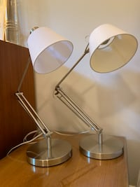 Table / Desk Lamps - Pair - Crate and Barrel Evanston, 60202