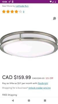 LED Fixture for sale Mississauga, L5N 5T8