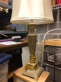 """Table lamp 30"""" tall"""