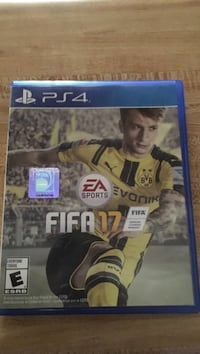 FIFA 17 PS4 game case Exeter, 93221
