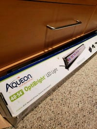 LED aqueon 48-54 in optibright tank light Silver Spring, 20905