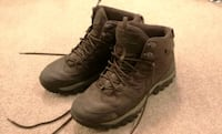Men's North Face hiking boots Brown size 9.5 (fits like 9) Edmonton, T5T 4J2
