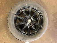 """Set of 19"""" winter tires and rims Toronto, M3H 5R9"""