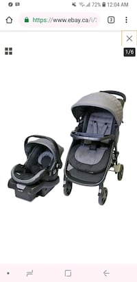 Safety 1st Step and Go 2 Travel System  Toronto, M9W