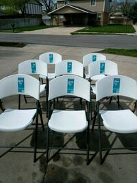 8 New chairs lifetime $165 for all  Salt Lake City, 84119