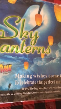 Fly into 2019 with a sky lantern  Pendleton, 46064