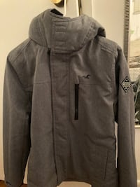 Hollister men's sz small jacket (All weather collection ) 301 mi