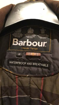 Boy Barbour Jacket (size S for 14 -15 years old)