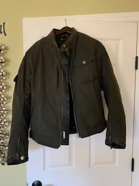Merlin Brand Waxed Cotton Motorcycle Jacket North Potomac, 20878