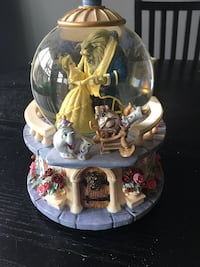 Beauty & The Beast Snow Globe