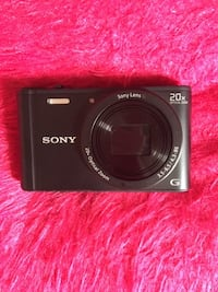 Like New SONY-WX350 LENS TYPE: Sony G Lens OPTICAL ZOOM: 20x Condition: Excellent working condition Markham