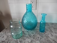 (x3) Vases (smaller sized)  Morinville