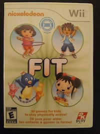 Nintendo Wii Nickolodeon Fit - Kids Fitness game Vaughan, L4L