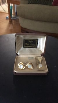 Cuff links and tie tack Bay Wood, 11706