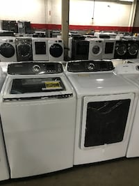 Used Washer Dryer Set High Capacity For Sale In St
