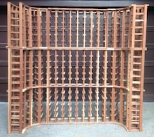 Redwood Wine Rack
