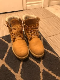 Winter frost timberland
