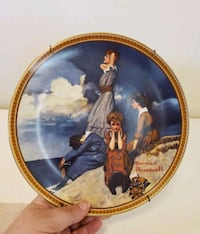 """Norman Rockwell's """"Waiting on the Shore"""" Plate Santa Rosa, 95404"""