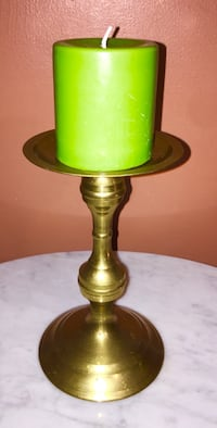 Solid Brass Candle Pillar  North Chesterfield, 23234