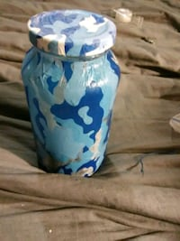 blue and white ceramic vase Bastrop, 71220