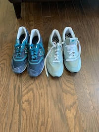 2 pairs of new size 11 suede new balance sneakers  New Castle, 19720