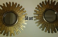 Gold color home decor...price reduction..$4 set Louisville, 40211