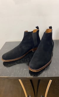 Black suede Chelsea boots from Aldo size 9