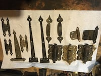 Miscellaneous door hinges and latches Frederick, 21703