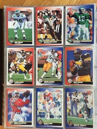 Football cards collection