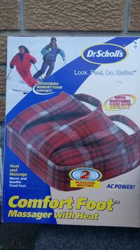 2 motor foot warmer New in Box Brampton, L6S 3C5