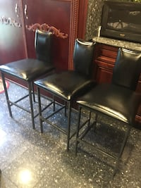 3 pieces bar stools in excellent condition  Albertson, 11507