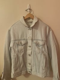 Wilfred Free SIZE SMALL Light Wash Denim Jacket  Vancouver, V5K 2Y8