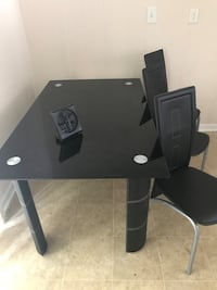 black wooden desk with chair Atlanta, 30349