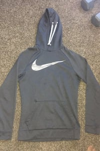 Men's grey Nike Dri-fit hoodie Mansfield, 76063