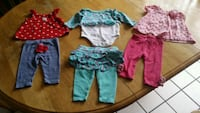 BABY GIRL 3-6 MONTHS OUTFITS  Riverview, 33578