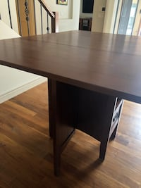 Folding dining room table with 6 stools and 2 chairs Calgary, T2N 1L3