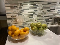 Pear Shaped Large Glass Decor x 3 Brampton, L6W 1R8